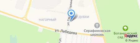 Обувная мастерская на ул. Героев Сталинградской Битвы на карте Йошкар-Олы