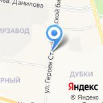 Макаровский на карте Йошкар-Олы
