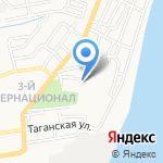 Фемида на карте Астрахани