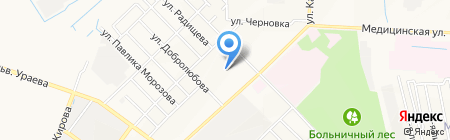 Детский сад №7 на карте Йошкар-Олы