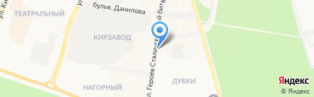 Исток-Сервис на карте Йошкар-Олы