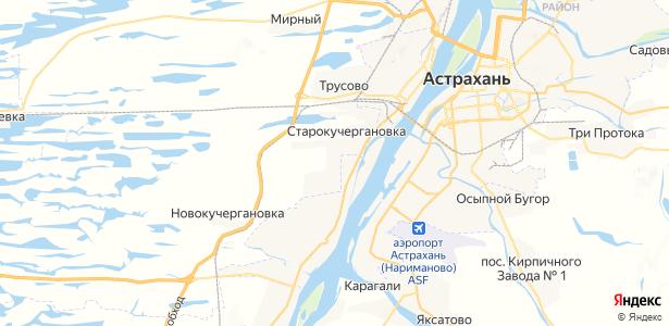 Старокучергановка на карте