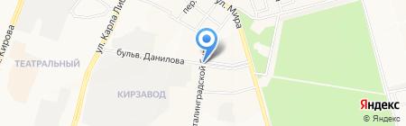 Добрый на карте Йошкар-Олы
