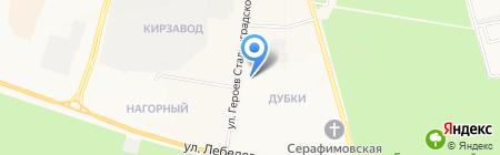 Закусочная на ул. Героев Сталинградской Битвы на карте Йошкар-Олы