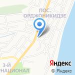 Тайпан на карте Астрахани
