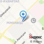 Авто-Drive на карте Йошкар-Олы