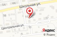 Схема проезда до компании ДокторДез в Трусово
