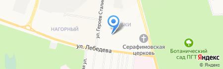 Детский сад №16 Дубок на карте Йошкар-Олы