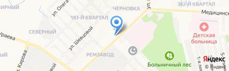 Домоуправление №18 на карте Йошкар-Олы