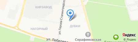 АвтоДизельСервис на карте Йошкар-Олы