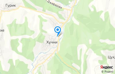 Местоположение на карте пункта техосмотра по адресу 368650, Дагестан Респ, Табасаранский р-н, с Хучни, ул Айдемирова (Советская), 51