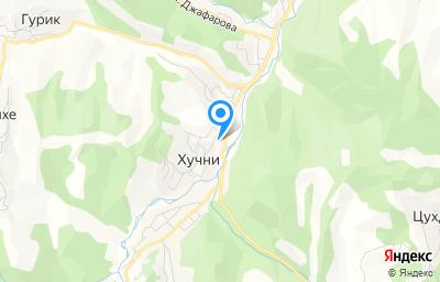 Местоположение на карте пункта техосмотра по адресу Респ Дагестан, с Хучни, ул Советская, д 51