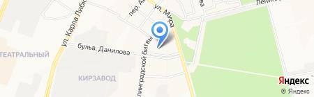 Проект-плюс на карте Йошкар-Олы