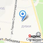 Почтовое отделение №30 на карте Йошкар-Олы
