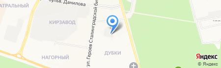 Домоуправление №16 на карте Йошкар-Олы