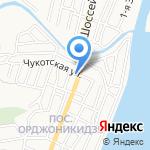 Астраханочка на карте Астрахани