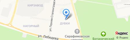 Детская школа искусств №2 на карте Йошкар-Олы