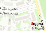 Схема проезда до компании Янтарь в Йошкар-Оле
