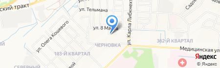 Теплострой на карте Йошкар-Олы