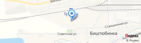 Оптово-розничная фирма на карте Биштюбинки