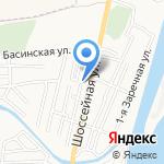 День Ночь на карте Астрахани