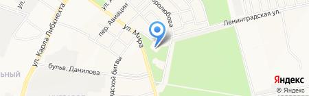 Служба заказа легкового транспорта на карте Йошкар-Олы