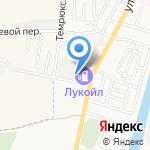 Ruкатер на карте Астрахани