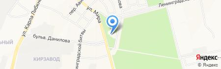 Улыбка на карте Йошкар-Олы