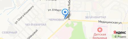Золотой конь на карте Йошкар-Олы