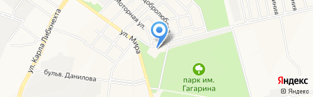 Скорпион на карте Йошкар-Олы