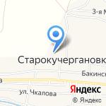 Средняя общеобразовательная школа №11 с дошкольным отделением на карте Астрахани