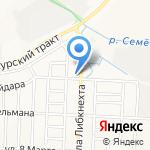Автоэлектрик на карте Йошкар-Олы