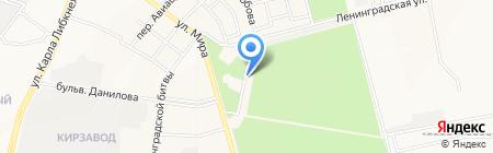 Здравушка на карте Йошкар-Олы