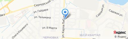 АвтоЭксперт на карте Йошкар-Олы