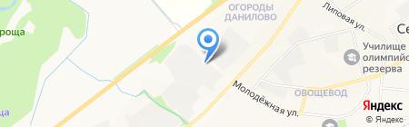 Птичий двор на карте Йошкар-Олы