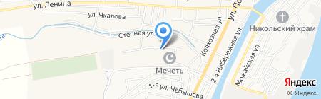 Мадина на карте Старокучергановки