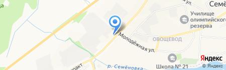 Автокомплекс на карте Йошкар-Олы