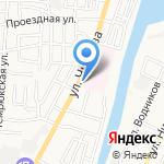 Магазин разливного пива на карте Астрахани