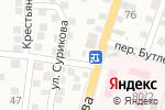 Схема проезда до компании Акрополь в Астрахани