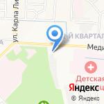 Шиномонтажная мастерская на Медицинской на карте Йошкар-Олы