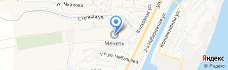 Мечеть на карте Старокучергановки