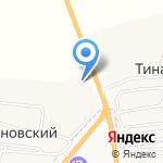Аст-Петрол на карте Астрахани