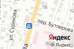 Схема проезда до компании Правый берег в Астрахани
