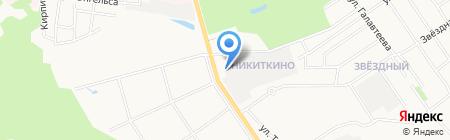 Волжская Бумажная Компания на карте Йошкар-Олы