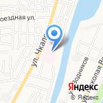 Стационар №2 на карте Астрахани