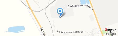 Термо-технология на карте Астрахани