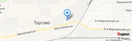 МСК-А на карте Биштюбинки
