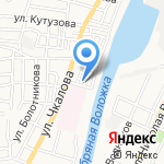 Магазин стройматериалов на карте Астрахани