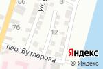 Схема проезда до компании Багира в Астрахани