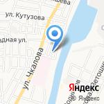 Багира на карте Астрахани